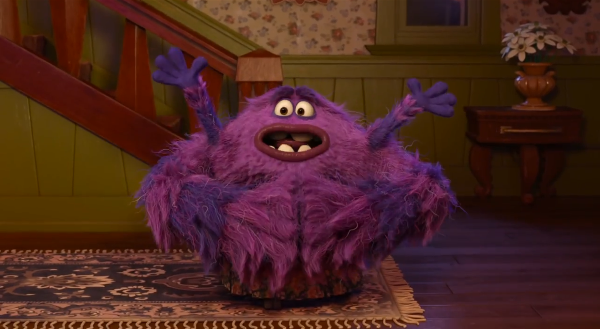 Monsters University Animation Confabulation